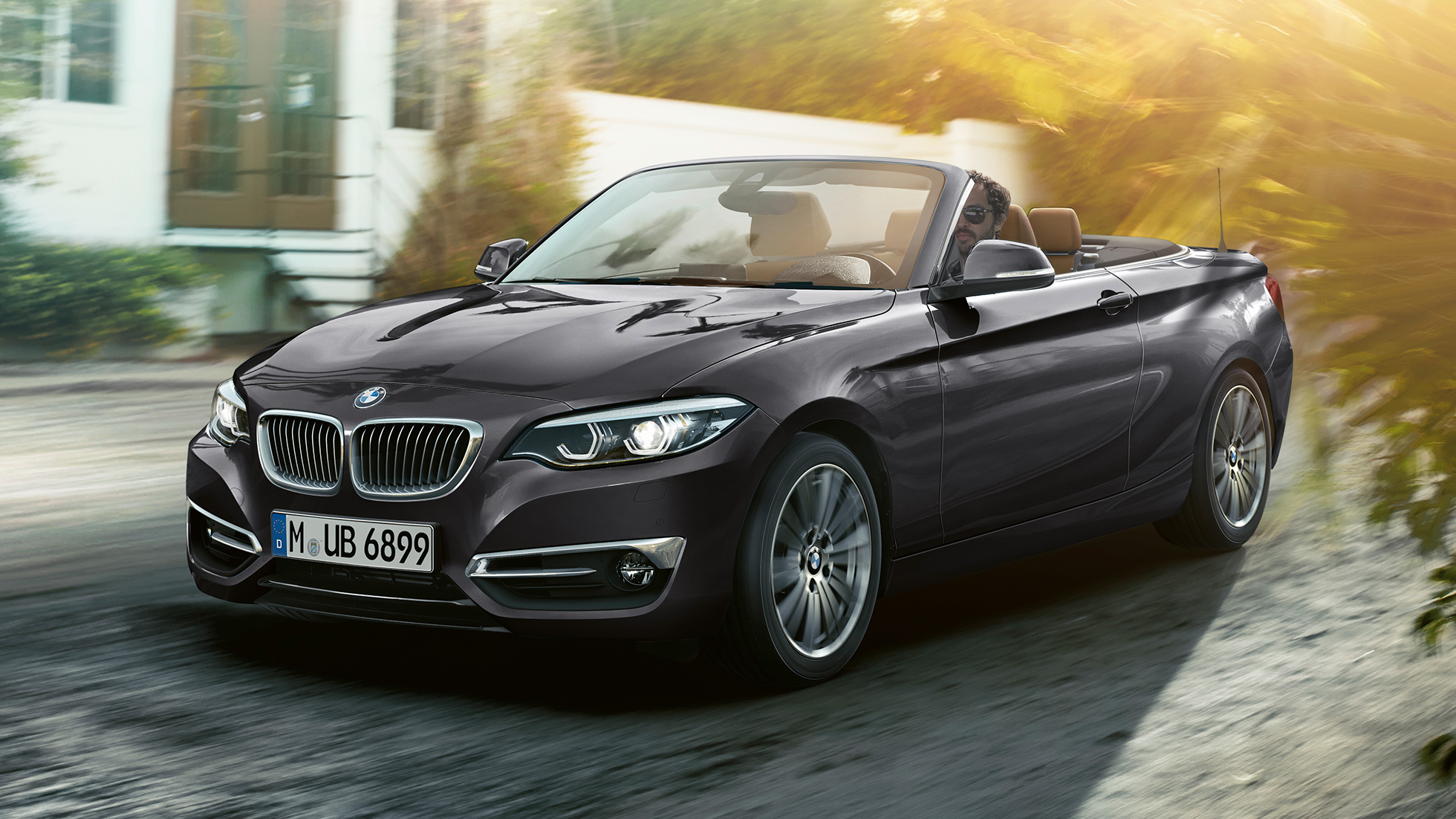 BMW Serie 2 Convertible, diseño frontal
