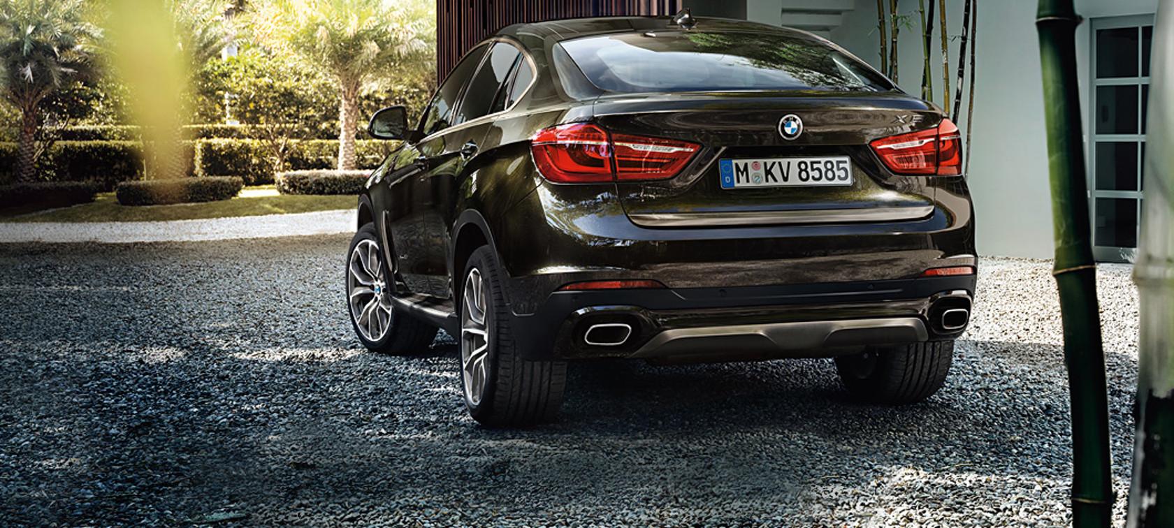 Resultado de imagen de BMW X6 trasero