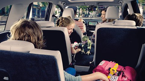 BMW 2 Series Gran Tourer travelling with children