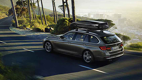 BMW 3 Series Touring practicality
